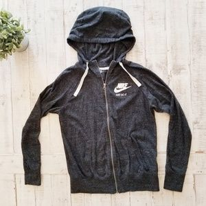 Nike Sportswear Gym Vintage Full Zip Hooded Jacket